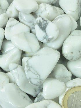 Magnesit Trommelsteine, VE 250 g - L