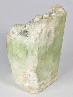 Heliodor (grüner Beryll), Rohkristall, Unikat