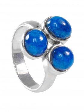 Apatit, Ring, Größe 58, Unikat