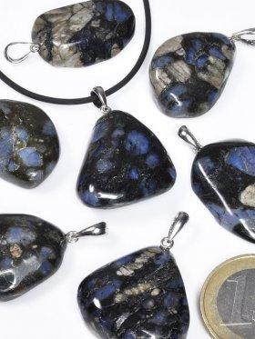 Blue Spot Stone (Rhyolith), Anhänger mit Öse