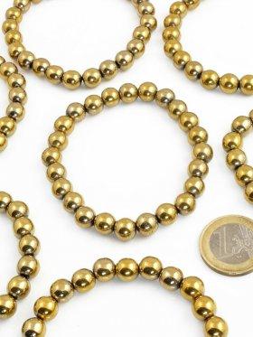 Hämatit goldfarben, Armband