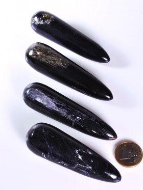 Turmalin schwarz, Massagestab, Größe M