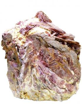 Lepidolit aus Brasilien, Deko-Mineral mit gesägter Standfläche, Unikat