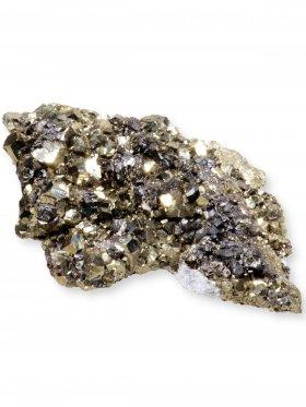 Pyrit Rohstein aus Peru, Unikat