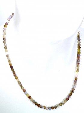 Achat - Botswana ø 4,5 mm, Halskette L 42 cm, 1 Stück
