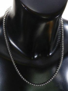 Bergkristall ø 4 mm, Halskette, L 42 cm, 1 Stück