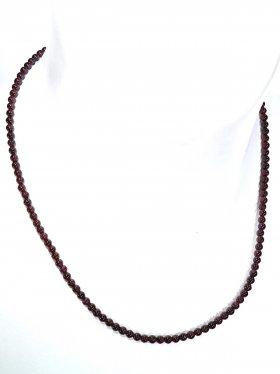 Granat ø 3,5 mm, Halskette, L 42 cm, 1 Stück