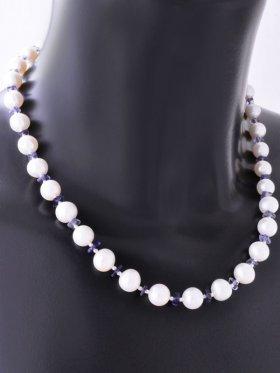 Pearl-Collection Perlenkette mit Edelsteinen in erlesenen Kombinationen