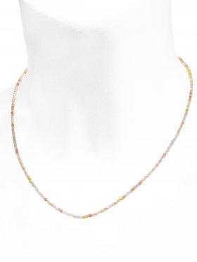 Andenopal pink Halskette, L 42 cm mit Verlängerungskettchen, 1 Stück