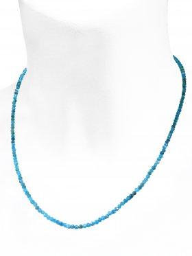Apatit Halskette, L 40 cm mit Verlängerungskettchen, 1 Stück