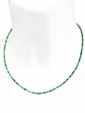 Aventurin Halskette, L 42 cm mit Verlängerungskettchen, 1 Stück