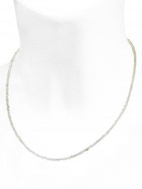 Mondstein Halskette, L 42 cm mit Verlängerungskettchen, 1 Stück
