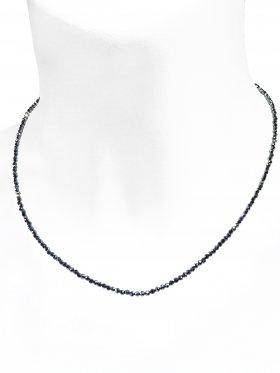 Silizium Halskette, L 42 cm mit Verlängerungskettchen, 1 Stück