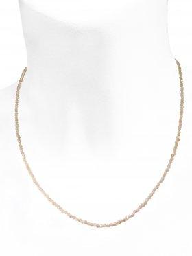 Sonnenstein Halskette, L 42 cm mit Verlängerungskettchen, 1 Stück
