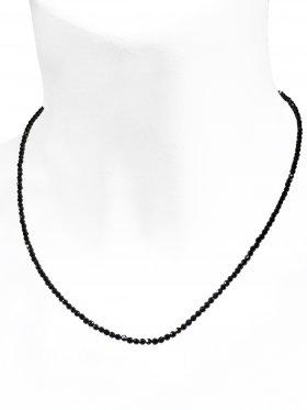 Spinell Halskette, L 40 cm mit Verlängerungskettchen, 1 Stück