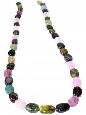 Strang aus dem Schmuckstein Opalit, 1 Stück