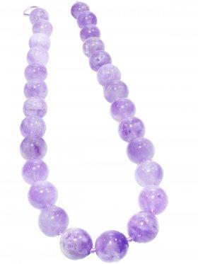 Lavendel - Amethyst, Kugel ø 14 mm, Strang ca. 40 cm, 1 St.