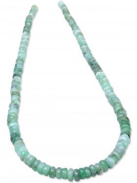 Smaragd, Rondell ø 5 mm, Strang