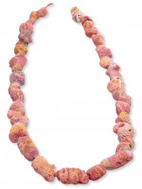 versteinerte Koralle gefärbt, Nuggets Strang
