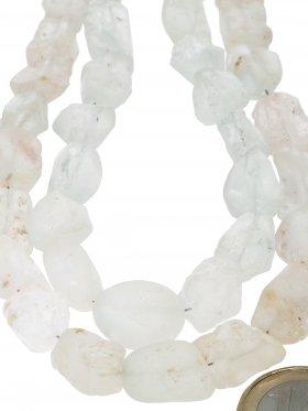 Topas weiß aus Brasilien, Rohkristall Strang, 1 St.
