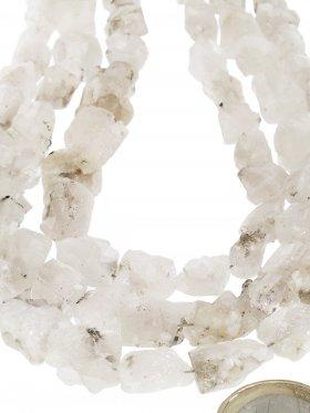 Apatit weiß aus Brasilien, Rohkristall Strang, 1 St.