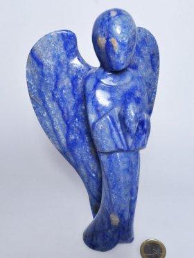 Blauquarz, Deko Engel, Unikat