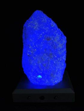 Schneeflocken-Bergkristall, Rohstück gestockt, Unikat