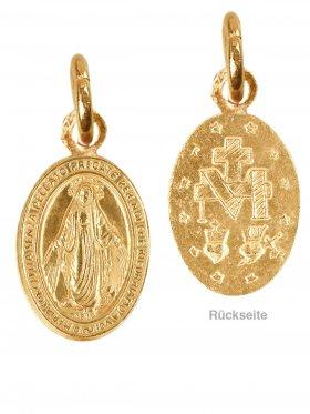 Symbol Madonna small, 925 vergoldet