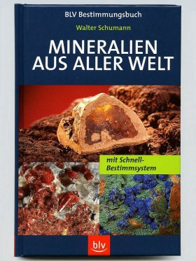 """Mineralien aus aller Welt"" - W. Schumann, Buch"