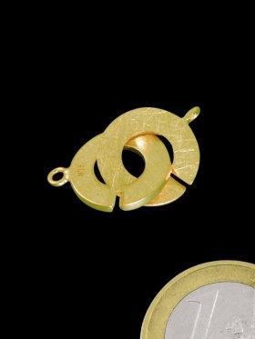 Ring-Ring Verschluss mit Öse, ø 14 mm (1 Paar)
