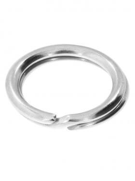 Spaltring, 925 Silber, verschiedene Größen, VE 4 St. - ø 7 mm
