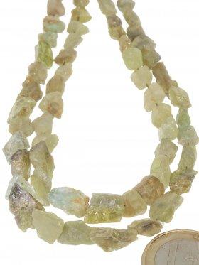 Chrysoberyll aus Brasilien, Rohkristall Strang, 1 St.