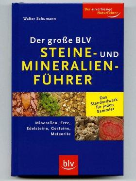 """""""Steine- und Mineralienführer"""" - W. Schumann, Buch"""