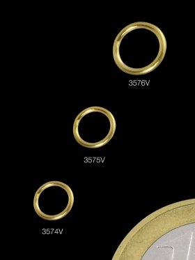 Ring geschlossen, Stärke 0,7 mm, 925 Silber